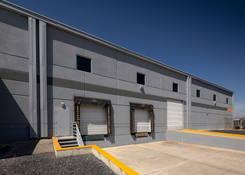 MTY012: MTY012 Exterior. Dock doors and ramp